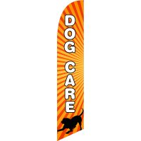 Dog Care Feather Flag Kit with Ground Stake