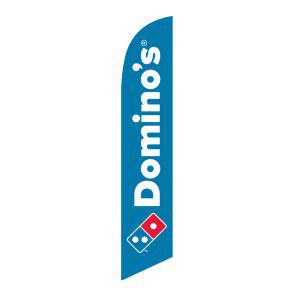 Domino's Pizza Feather Flag to increase your business and presence