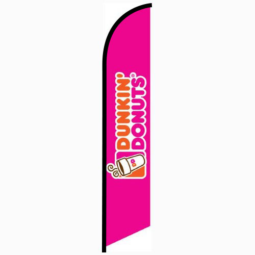 Dunkin Donuts feather flag