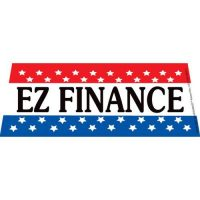EZ Finance  windshield banner