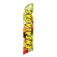 Ensaladas Feather Flag