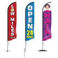 All-Feather Flags in Stock