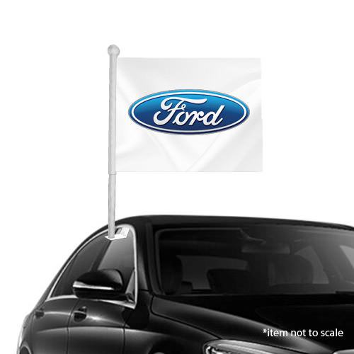 FORD  window clip on flag NSW 37
