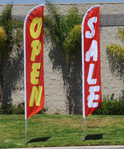 Feather Flags In Stock : door banners flags - pezcame.com