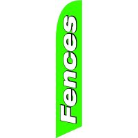 Fences Feather Flag Kit with Ground Stake