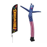 Fireworks Inflatable Tube Man & Feather Flag SALE!