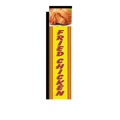 Fried Chicken Rectangle Banner Flag