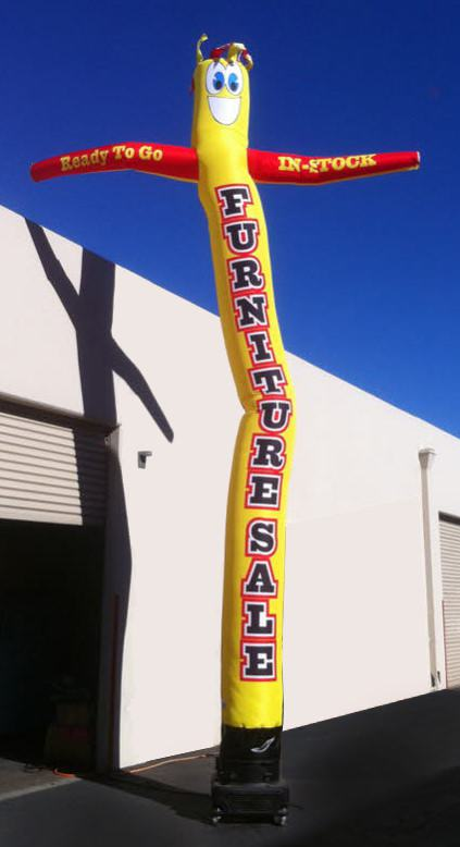 Furniture Sale inflatable tube man - Custom Made in the USA