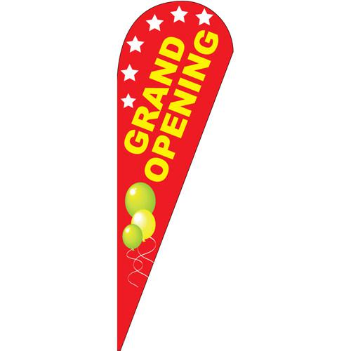 Grand Opening Teardrop Flag [DISCONTINUED]