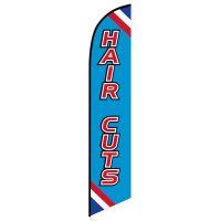 Haircuts banner flag