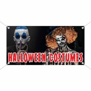 Halloween Costumes Vinyl Banner-1