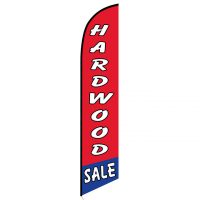 Hardwood sale feather flag