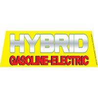 Hybrid Gasoline windshield banner