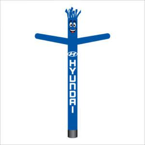 Hyundai air dancer inflatable tube man.