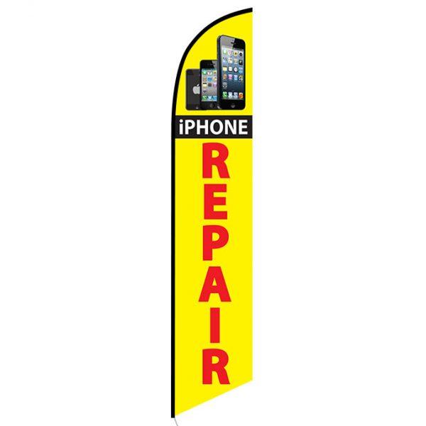 I-phone Repair Feather Flag