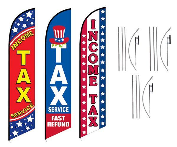 INCOME TAX SERVICE 3 PACK_FFN-5462, FFN-5428, FFN-5022C