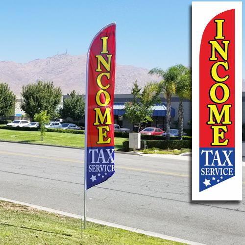 Income tax flag