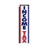 Income Tax Rectangle Flag
