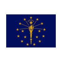 Indiana State 3×5 flag