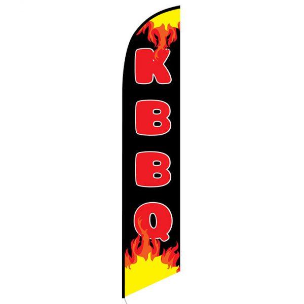 KBBQ Feather Flag