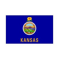 Kansas State 3×5 flag