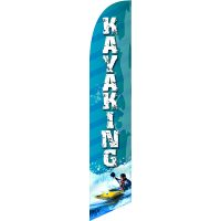 Kayaking Feather Flag Kit with Ground Stake