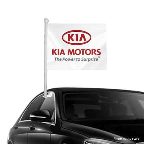 Kia window clip on flag NSW 43