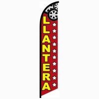 Llantera feather flag