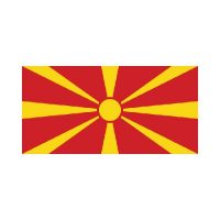 Macedonia 3×5 Flag
