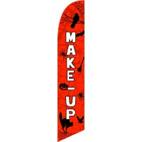 Make-Up Feather Flag Kit with Ground Stake