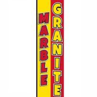 Granite Marble Rectangle Flag