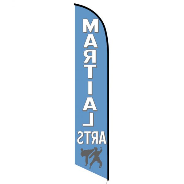 Martial Arts feather flag