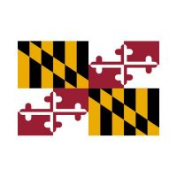 Maryland State 3×5 flag