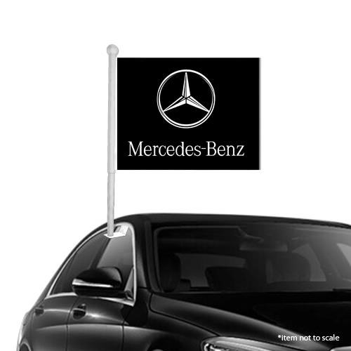 Mercedes benz  window clip on flag NSW 51