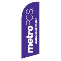 Metropcs Authorized Dealer flag