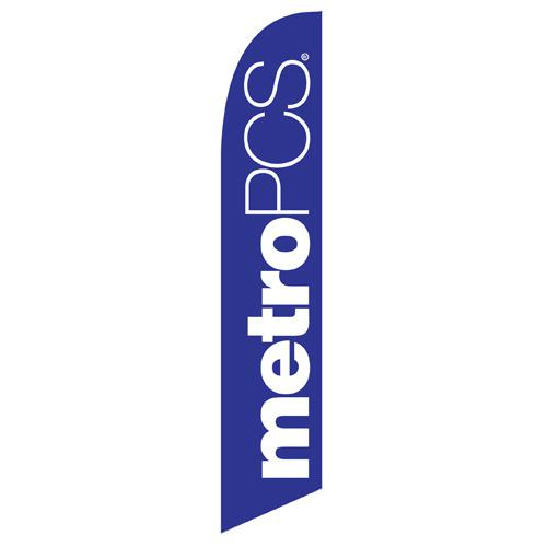 MetroPCS Feather Flag