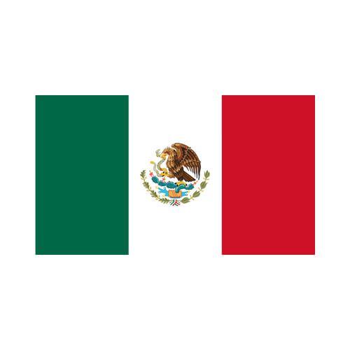 Mexican 3x5 Flag