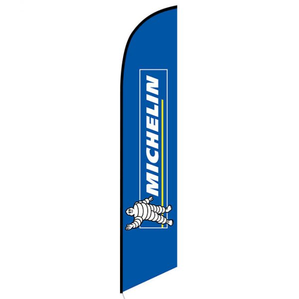 Michelin feather flag