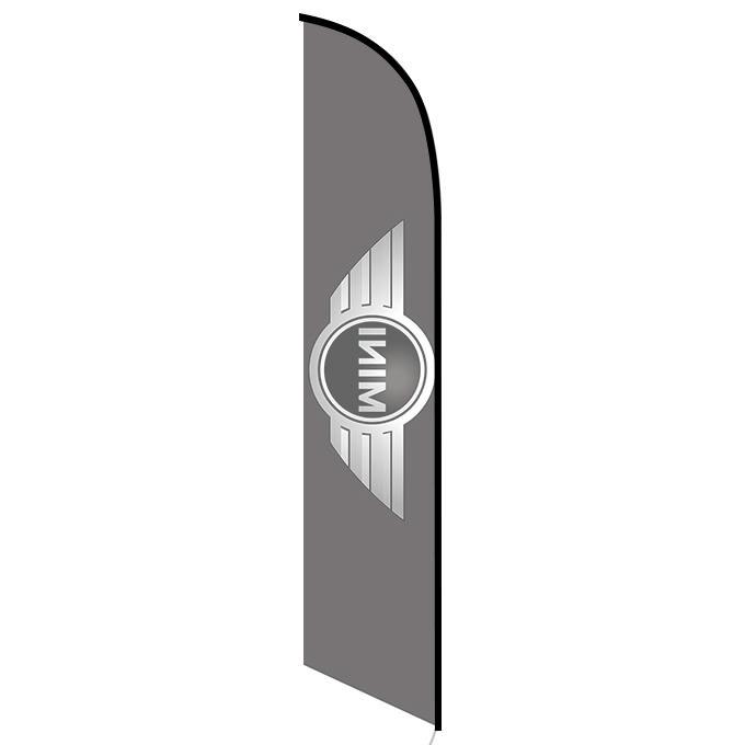 Mini cooper feather flag