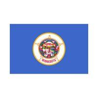 Minnesota State 3×5 flag