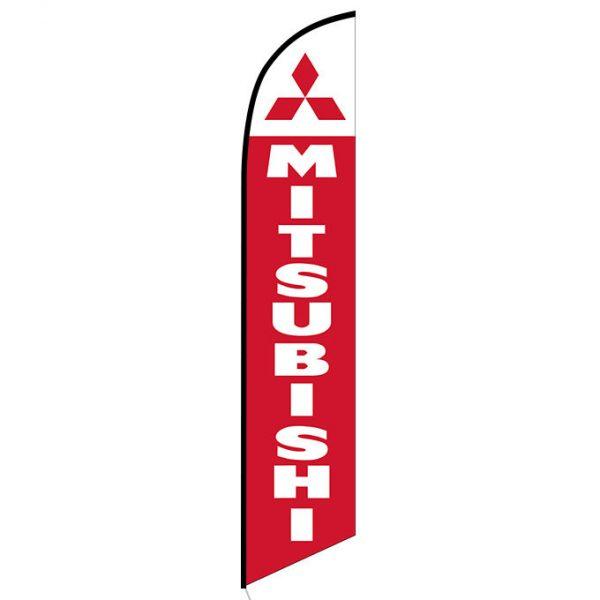 Mitsubishi feather flag