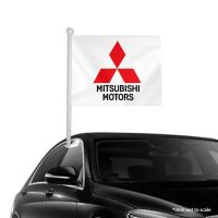 Mitsubishi-motors–window-clip-on-flag-NSW-50