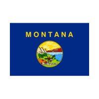 Montana State 3×5 flag