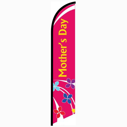 Mothers Day Feather Flag