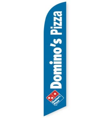 [DISCONTINUED] Domino's Pizza Feather Flag