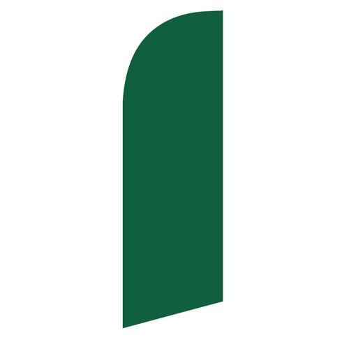 small Dark Green feather flag