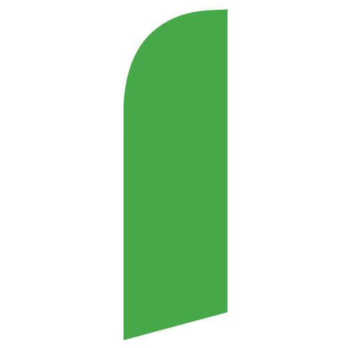 small Light Green feather flag