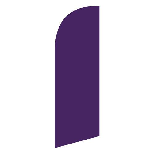 small Purple feather flag