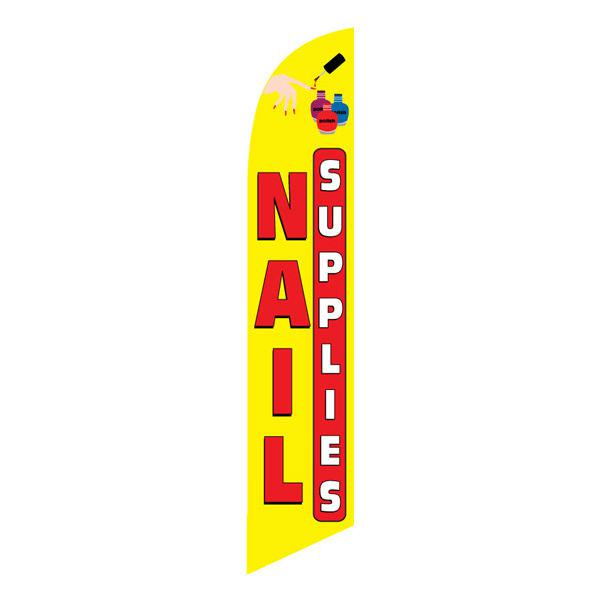 This Nails supplies feather flag has proven to increase sales for businesses