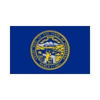 Nebrasaka State 3×5 flag